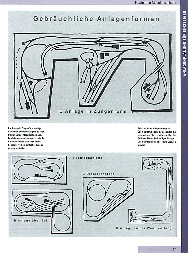 modelleisenbahn das gro e gleisplan buch buch. Black Bedroom Furniture Sets. Home Design Ideas