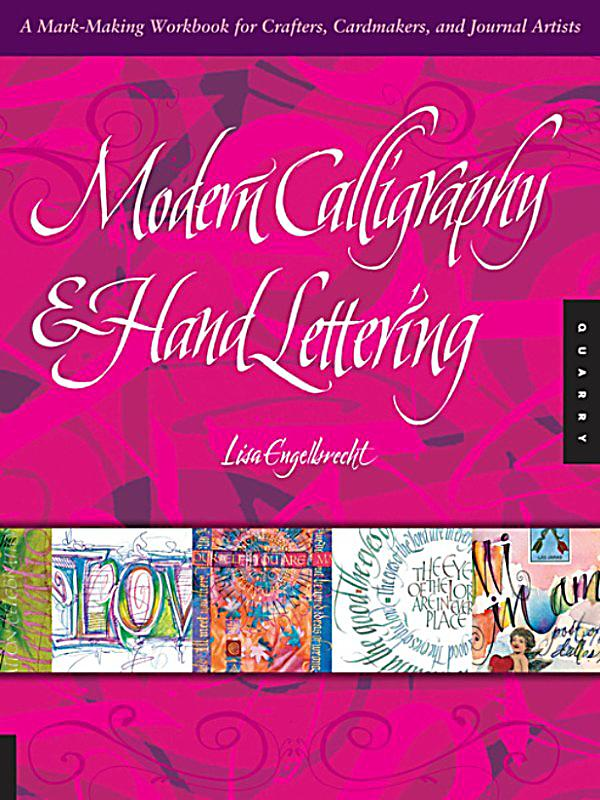 Modern calligraphy and hand lettering ebook weltbild