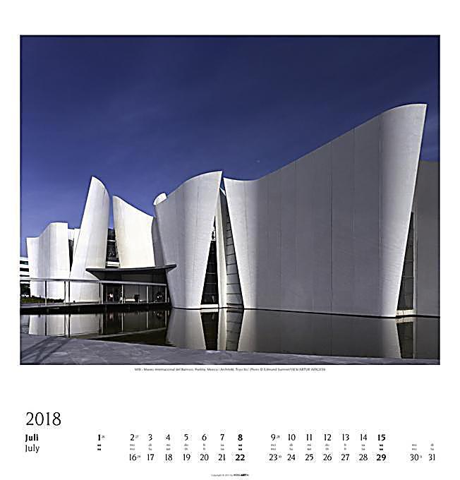 Moderne architektur 2018 kalender bei bestellen for Architektur moderne