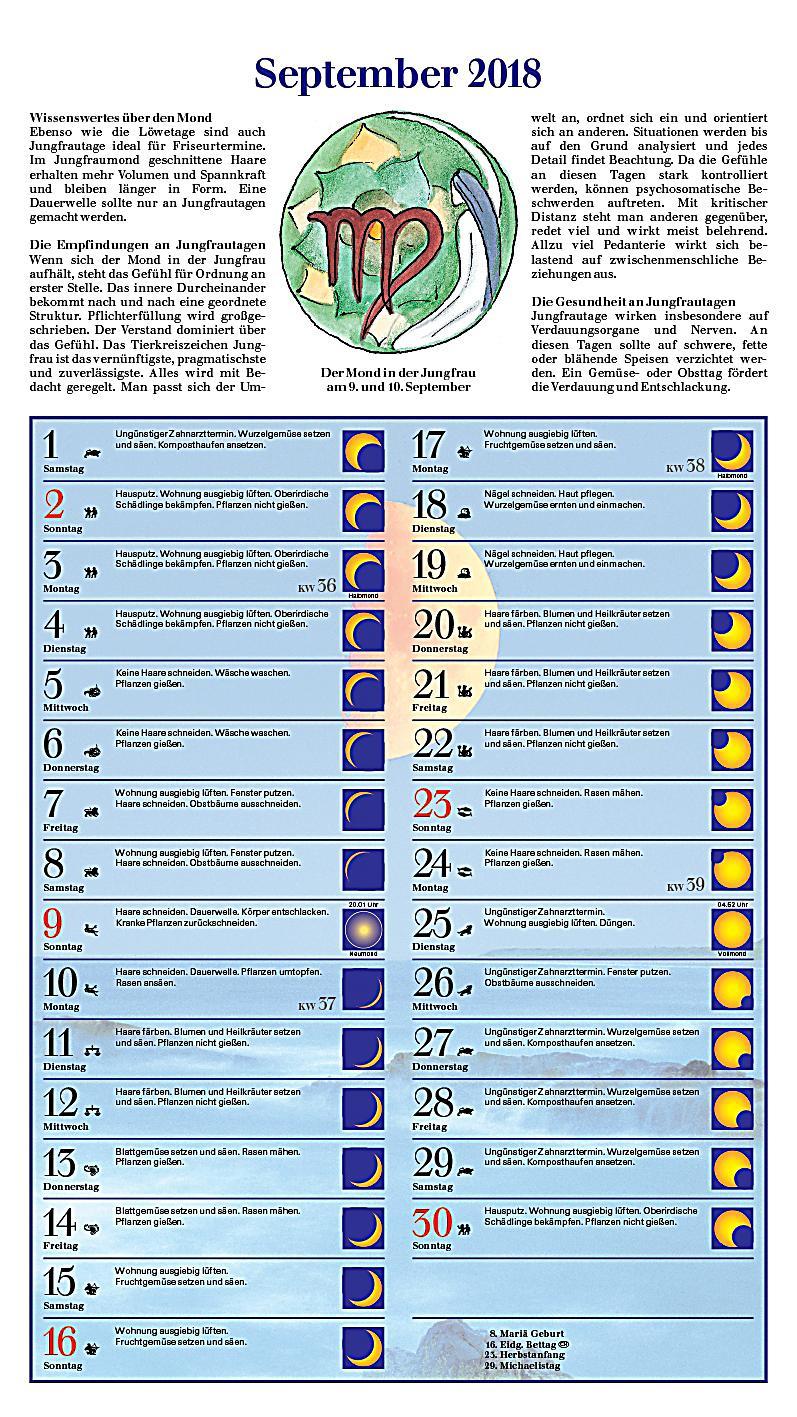 Mond im Einklang 2018 - Kalender bei Weltbild.ch bestellen
