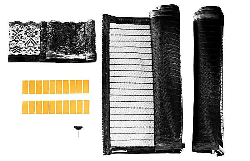 moskitonetz mit magnetverschluss schwarz bestellen. Black Bedroom Furniture Sets. Home Design Ideas