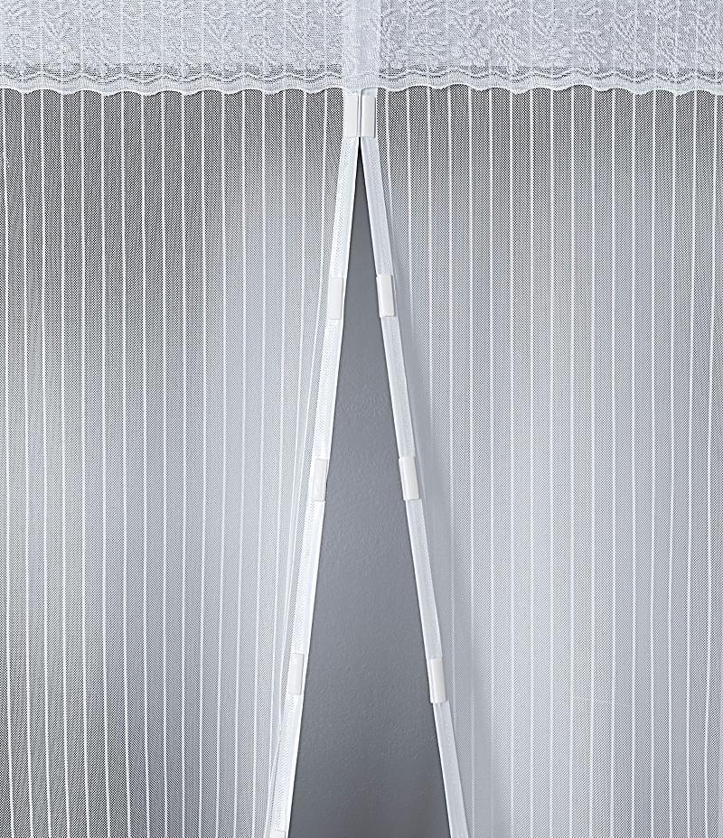 moskitonetz mit magnetverschluss wei bestellen. Black Bedroom Furniture Sets. Home Design Ideas
