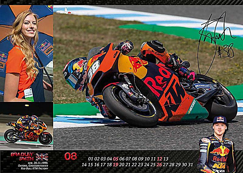 MOTO GP AND GRID GIRLS 2018 - Kalender bei Weltbild.de bestellen