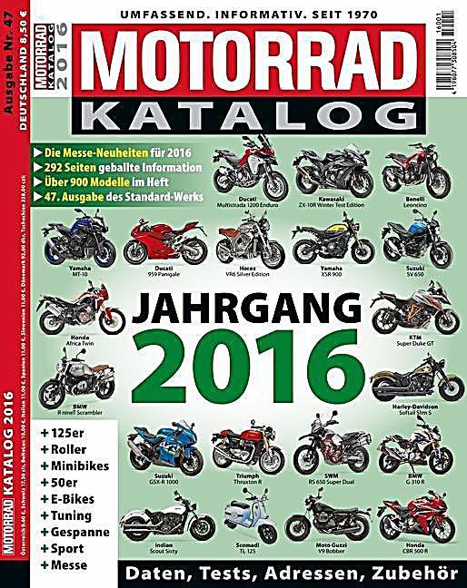 Motorrad Katalog 2016 Buch Jetzt Bei Online