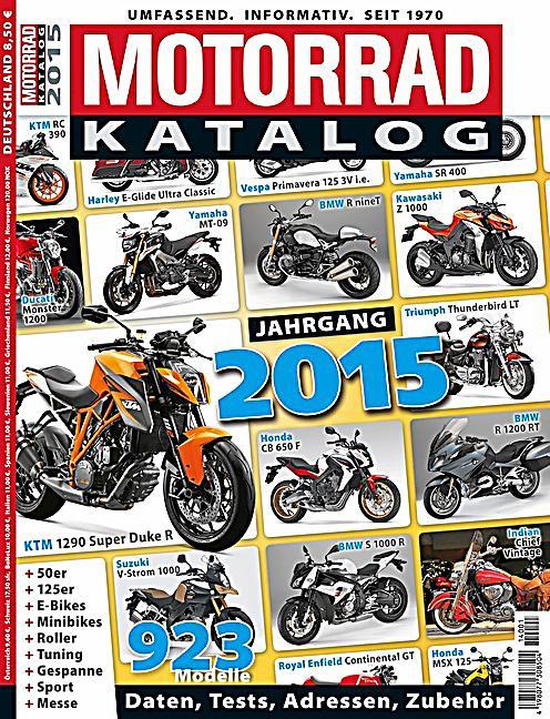 Motorrad Katalog Jahrgang 2015 Buch Bei Bestellen