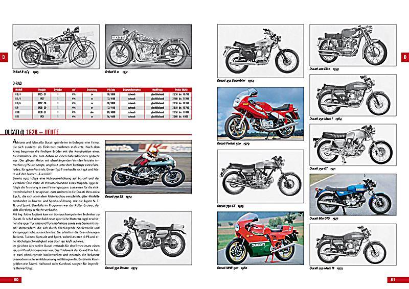 Motorrad Oldtimer Katalog Buch Bei Online