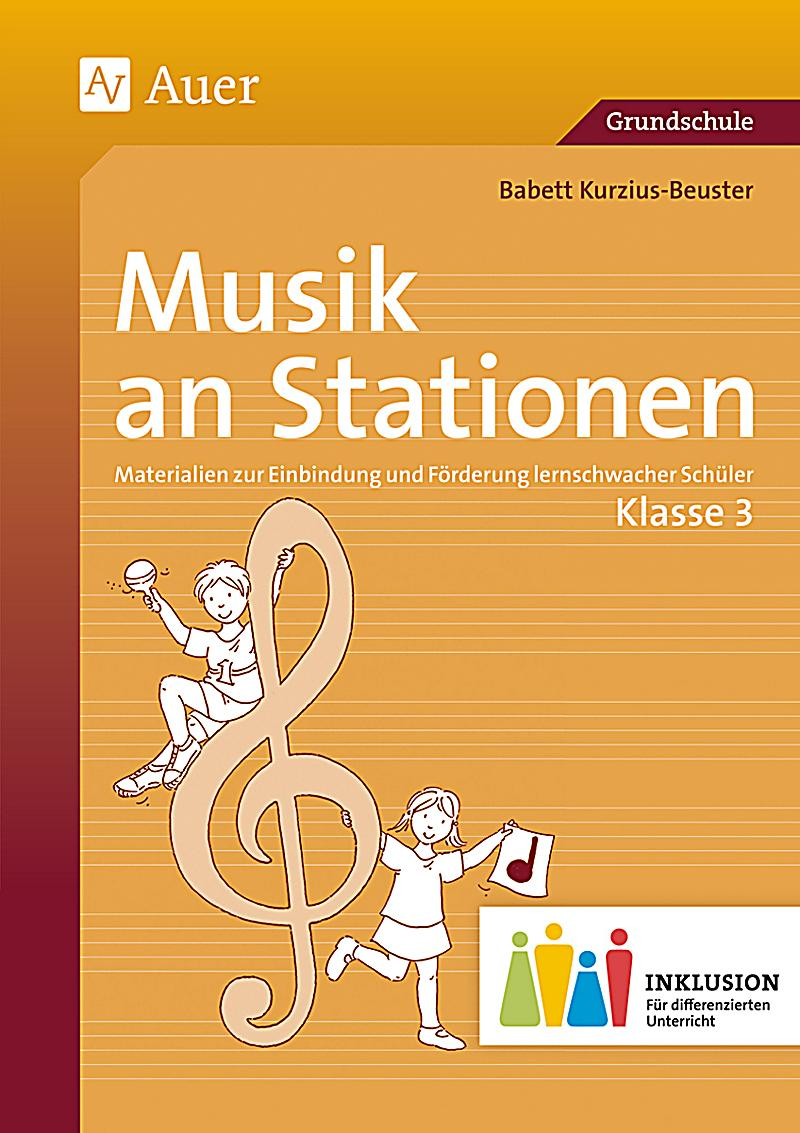 musik an stationen klasse 3 inklusion m audio cd buch. Black Bedroom Furniture Sets. Home Design Ideas