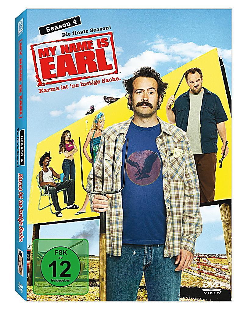 my name is earl season 4 dvd bei bestellen. Black Bedroom Furniture Sets. Home Design Ideas