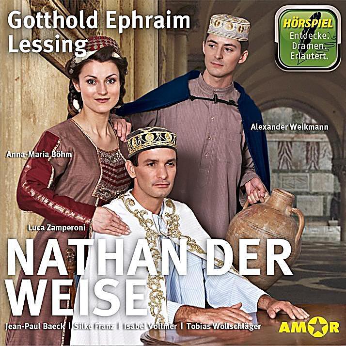 Nathan der weise 1 audio cd h rbuch bei bestellen for Raumgestaltung nathan der weise