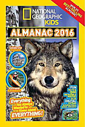 national geographic kids almanac 2016 kalender bei. Black Bedroom Furniture Sets. Home Design Ideas