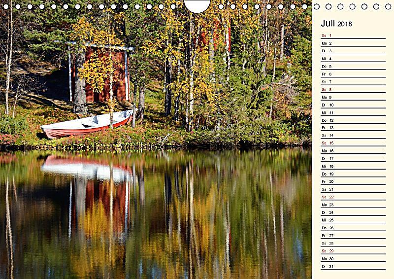 Natur im spiegel wandkalender 2018 din a4 quer for Spiegel 7 2018