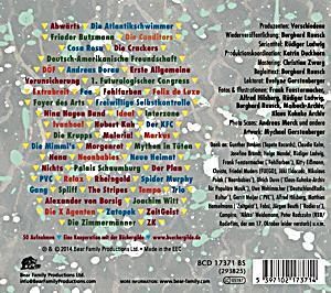 Ndw die neue deutsche welle 1977 85 teil 1 cd bei for Die neue deutsche welle