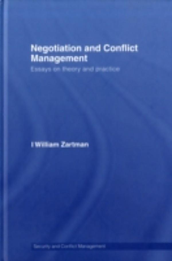 william zartman ripeness theory pdf