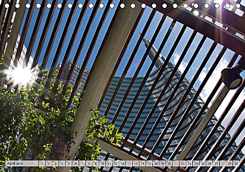 Neue architektur in mailand tischkalender 2018 din a5 quer for Architektur mailand