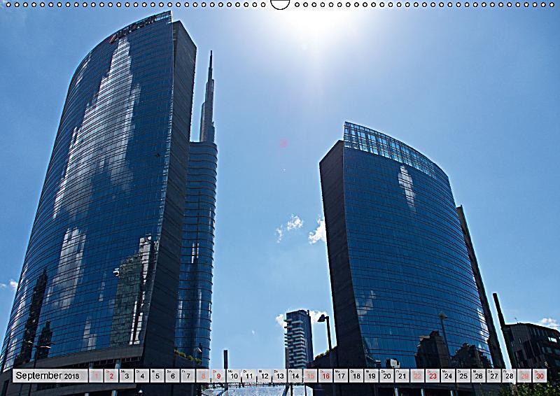 Neue architektur in mailand wandkalender 2018 din a2 quer for Architektur mailand