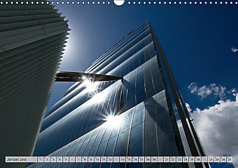 Neue architektur in mailand wandkalender 2018 din a3 quer for Architektur mailand