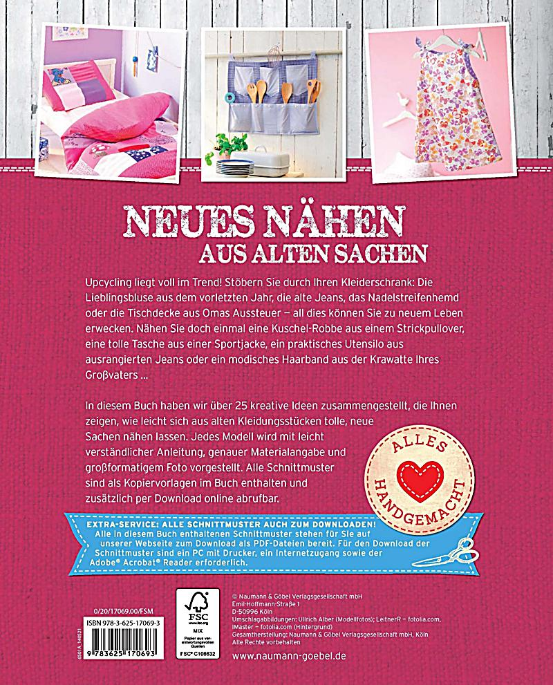 neues n hen aus alten sachen buch bei bestellen. Black Bedroom Furniture Sets. Home Design Ideas