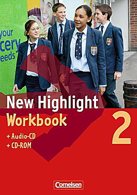 new highlight hauptschule bd 2 6 schuljahr workbook m audio cd u cd rom buch. Black Bedroom Furniture Sets. Home Design Ideas