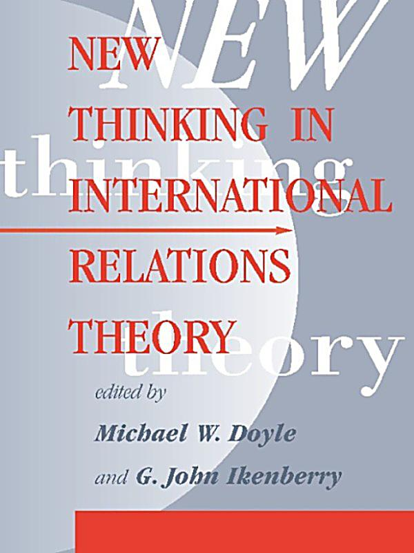 essays on international relations theory Amazoncom: international institutions and state power: essays in international relations theory (9780813308388): robert o keohane: books.