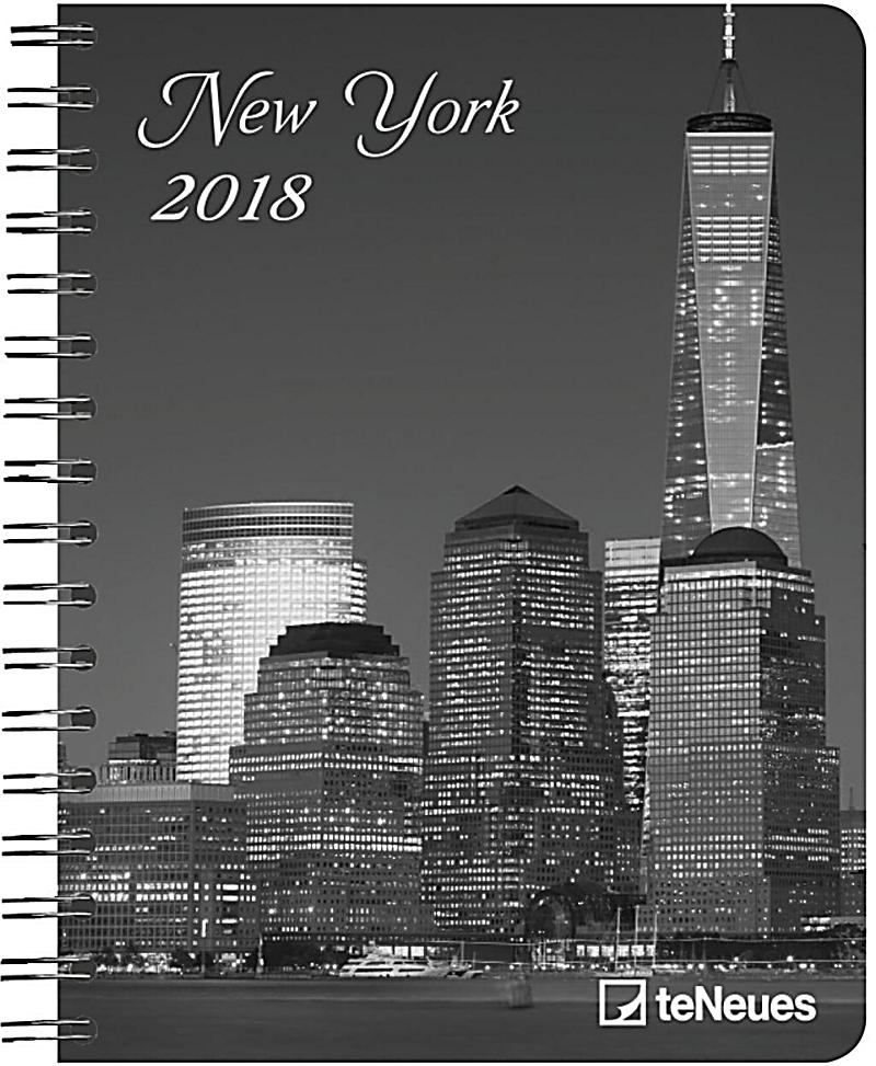 new york 2018 diary kalender g nstig bei. Black Bedroom Furniture Sets. Home Design Ideas