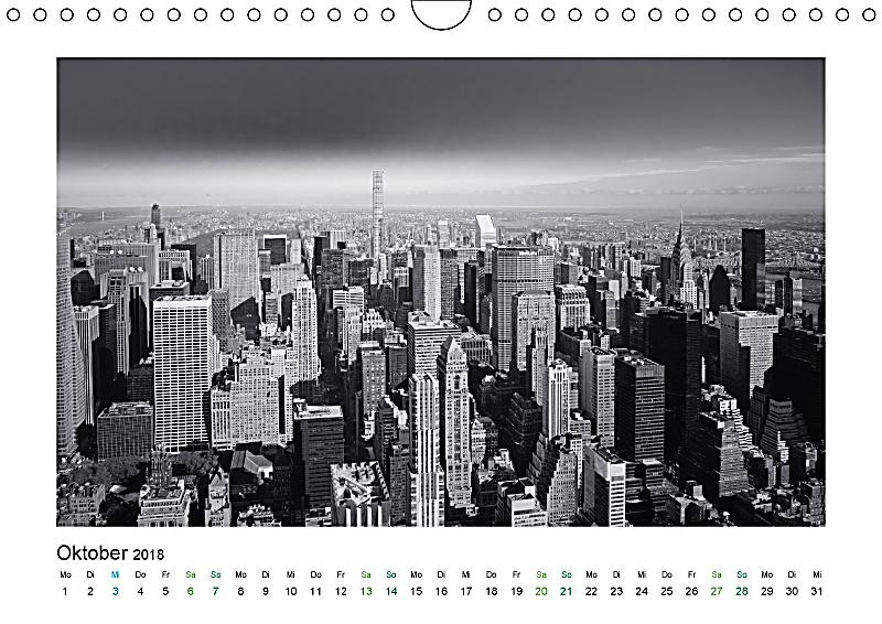 new york in schwarz weiss wandkalender 2018 din a4 quer kalender bestellen. Black Bedroom Furniture Sets. Home Design Ideas