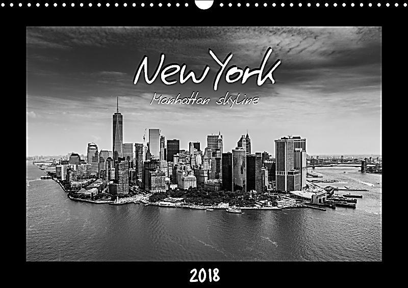 new york manhattan skyline 2018 wall calendar 2018 din a3 landscape kalender bestellen. Black Bedroom Furniture Sets. Home Design Ideas