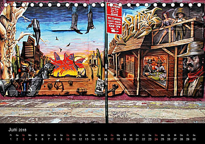 Art Calendar New York : Art design kalender new york street
