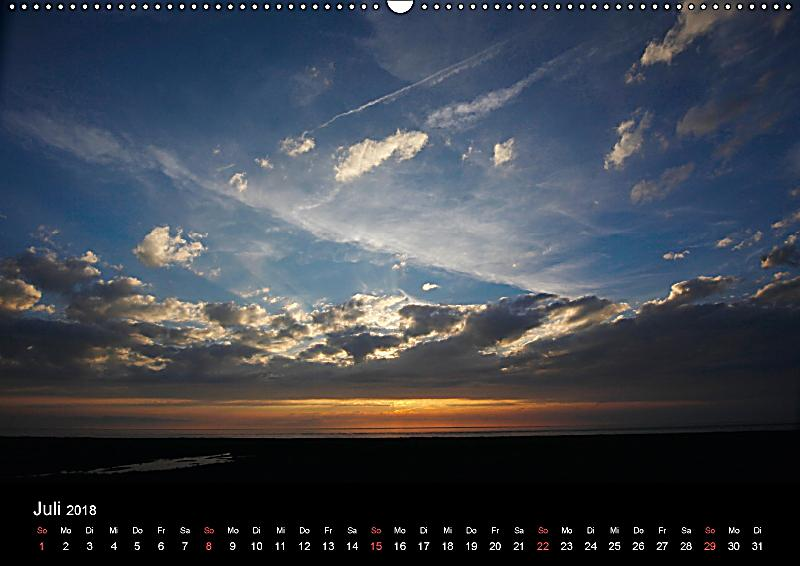 Nordsee Impressionen Ch Version Wandkalender 2018 Din A2