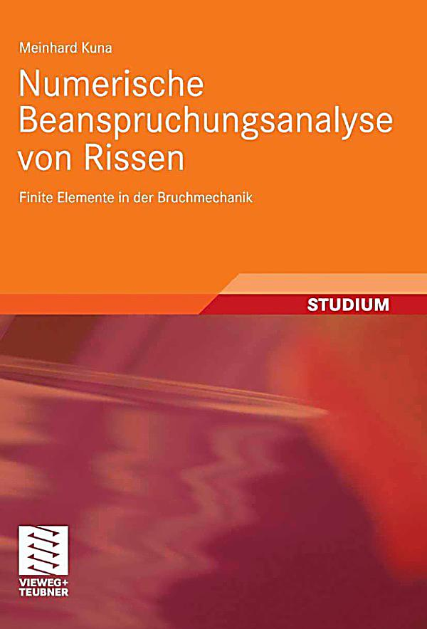 Numerische beanspruchungsanalyse von rissen ebook for Finite elemente in der baustatik