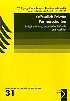 Ffentlich private partnerschaften buch bei for Schneider katalog bestellen privat
