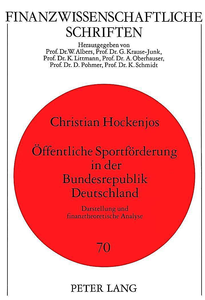 Sportförderung Deutschland