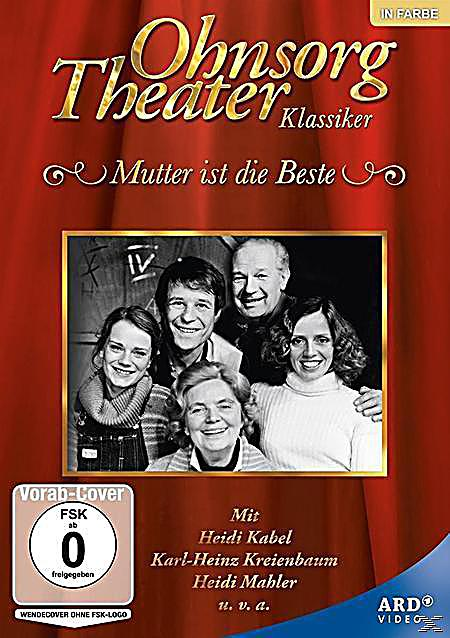 ohnsorg theater mutter ist die beste dvd. Black Bedroom Furniture Sets. Home Design Ideas