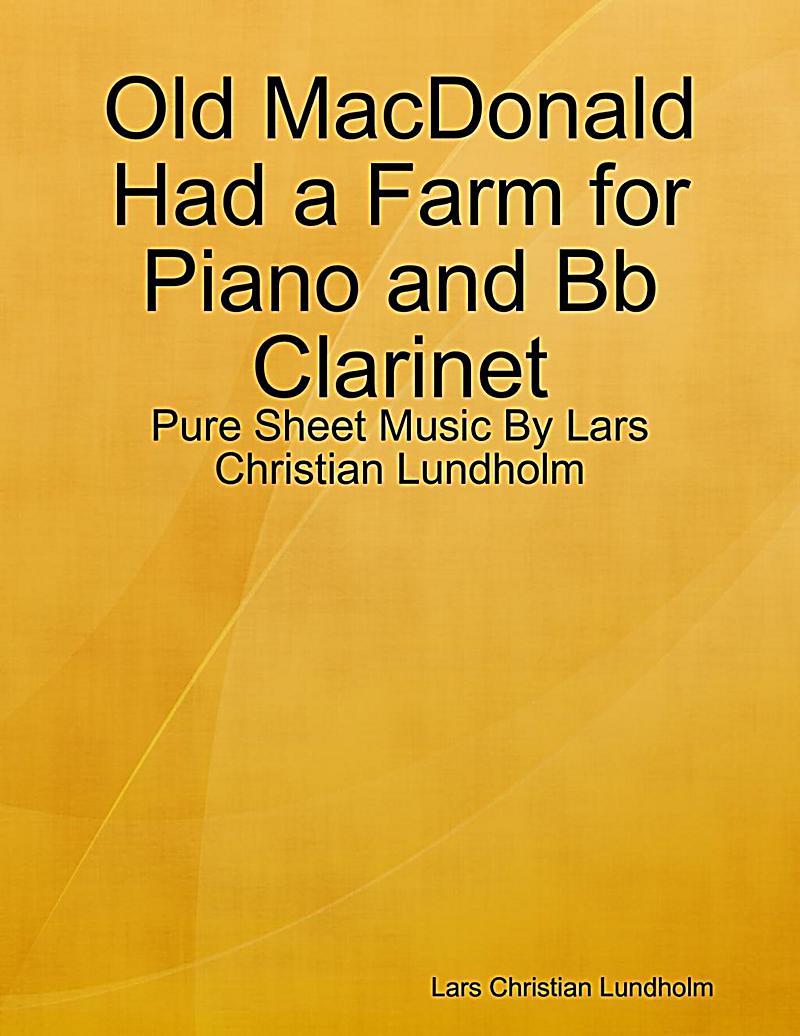 old macdonald had a farm piano pdf
