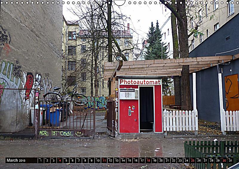 old photo booths in berlin 2018 uk version wall calendar 2018 din a3 landscape kalender bestellen. Black Bedroom Furniture Sets. Home Design Ideas