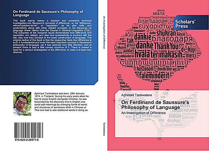 how differance related semiology ferdinand de saussure These differences are related to differences in how the human a comparison of ferdinand de saussure's course in general linguistics with c k ogden and i a.