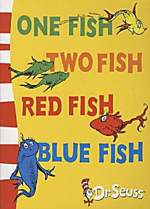 One Fish, two fish, red fish, blue fish by Dr. Seuss-Hardcover-1960