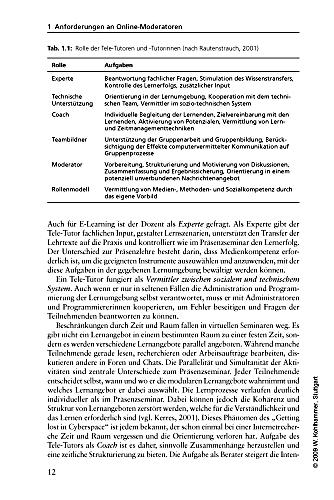 tele tutoring On jan 1, 1998, alexander geyken (and others) published the chapter: selbtgesteuertes lernen mit tele-tutoring in the book: multimedia und.