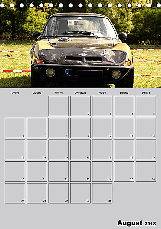 opel gt terminplaner tischkalender 2018 din a5 hoch dieser. Black Bedroom Furniture Sets. Home Design Ideas