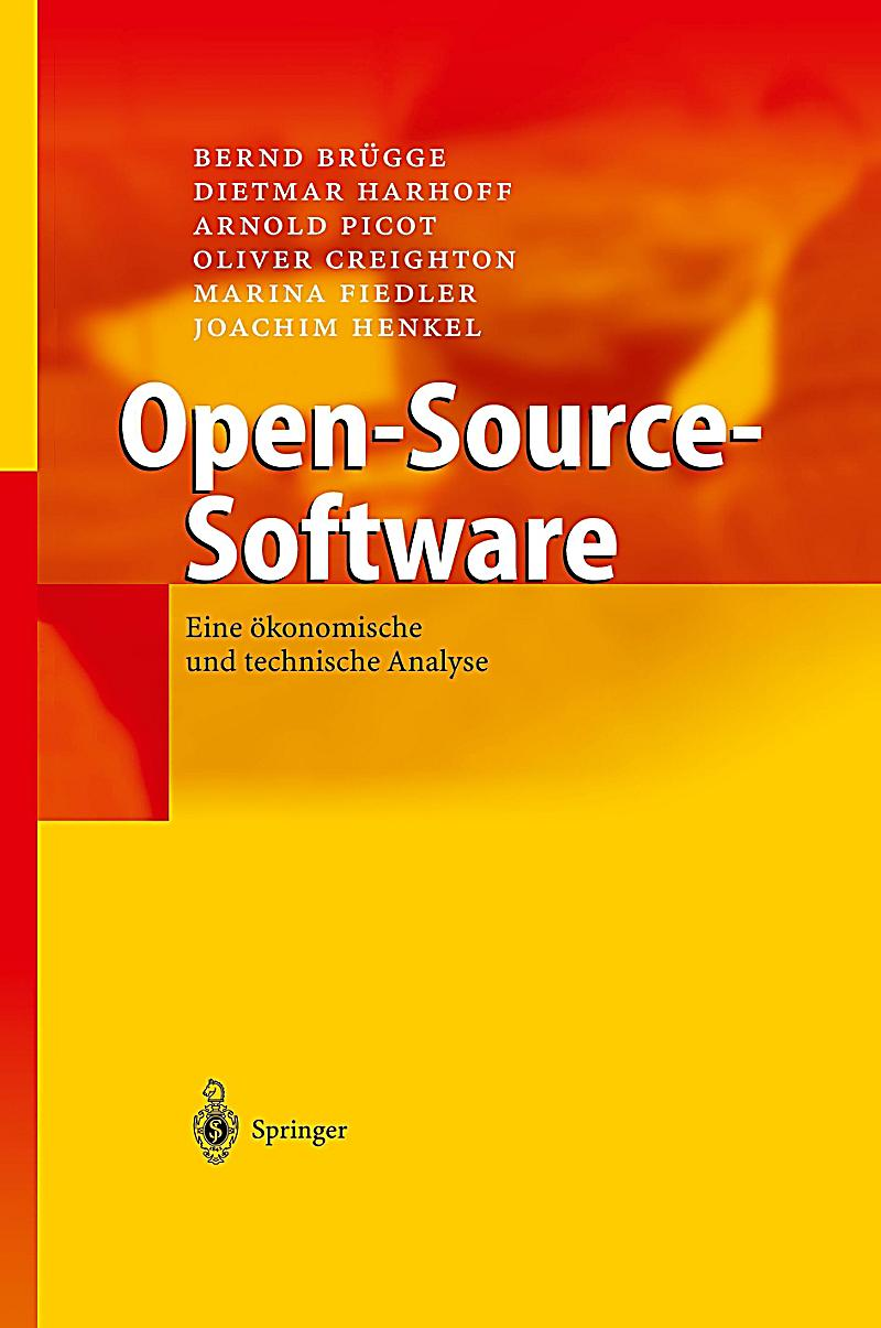 Open source software buch von bernd br gge portofrei Open source programs