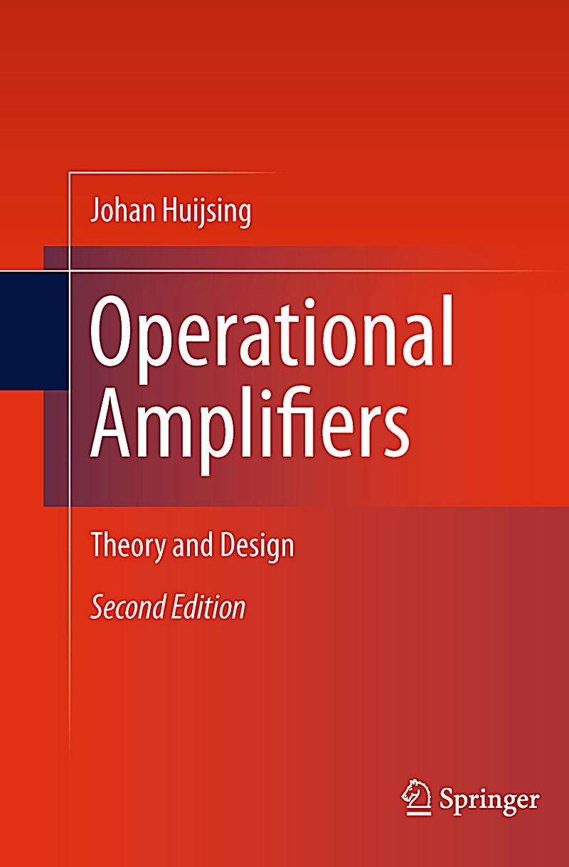 Operational Amplifiers Theory And Design Pdf