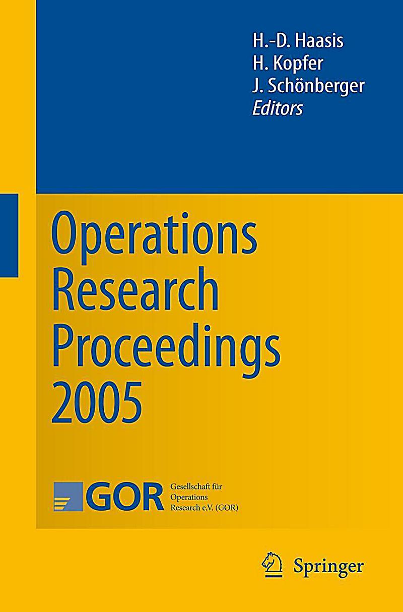 what is operations research What operations research is in a nutshell, operations research (or) is the discipline of applying advanced analytical methods to help make better decisions.