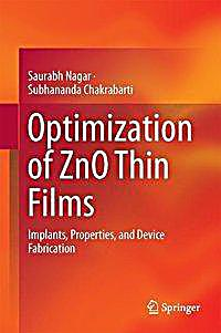 zno thin films thesis The structural and optical properties of zno thin films prepared at different rf sputtering power on the structural and optical properties of zno thin films.