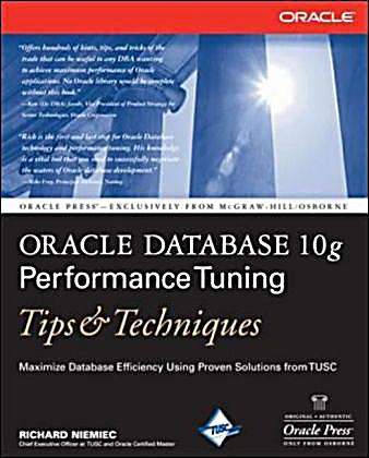 oracle 10g performance tuning case studies Introduction to query performance tuning: » several case studies 3 oracle 10g and higher.