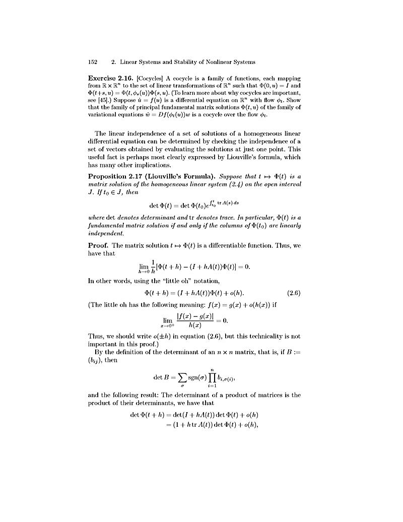 geometrical application of ordinary differential equation An application of theory of ordinary differential equations (ode) in geometry  of ode and i came up with the following application: suppose you have an one .
