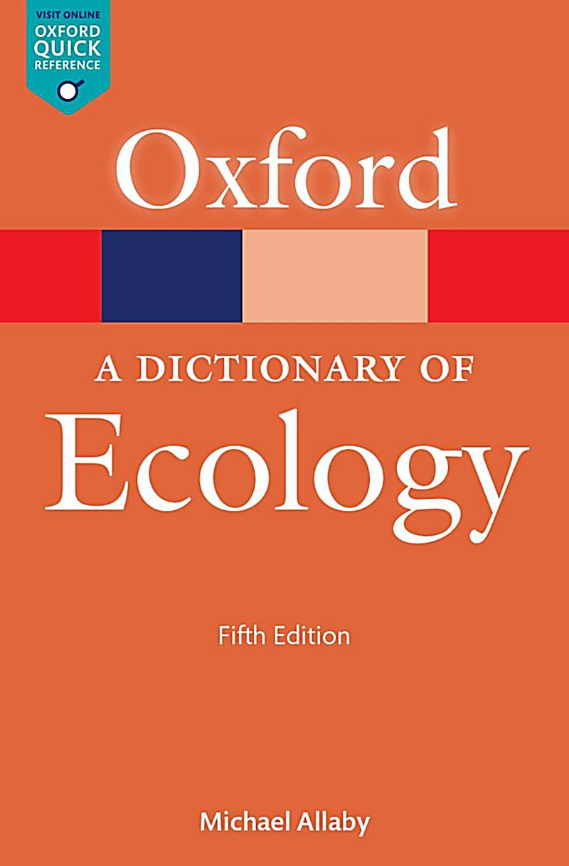 oxford dictionary of ecology pdf