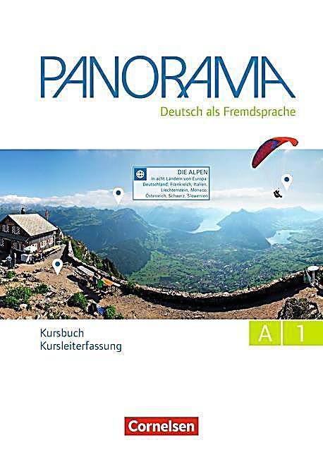 panorama deutsch als fremdsprache a1 kursbuch gesamtband kursleiterfassung buch. Black Bedroom Furniture Sets. Home Design Ideas
