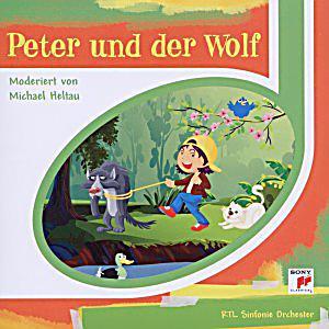 peter und der wolf cd cd von sergej prokofjew bei. Black Bedroom Furniture Sets. Home Design Ideas