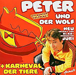 peter und der wolf karneval der tiere von sergej prokofjew. Black Bedroom Furniture Sets. Home Design Ideas