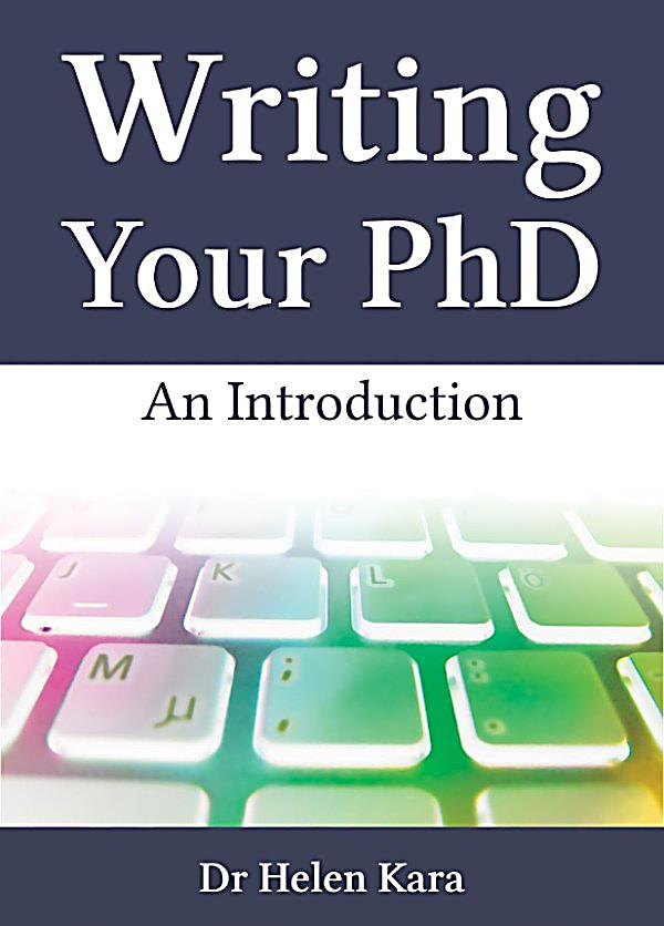 Doctoral thesis writing an introduction