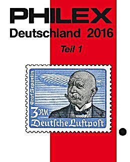 Philex Deutschland Briefmarken Katalog 2016 Buch